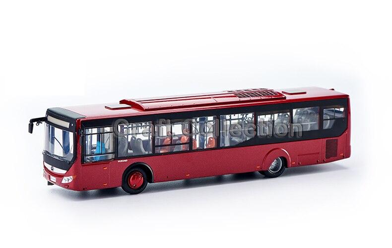 Red 1:43 Yutong ZK6128 City Bus High Simulation Alloy Toy Bus Models Passenger Station Wagon Diecast очиститель кожи astrohim с кондиционером 500 мл ас 855