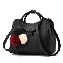 Frauen Schwarz Leder Tote Handtasche Damen Partei Umhängetaschen Für Mädchen Mode Top Griff Frauen Crossbody Messenger Bag