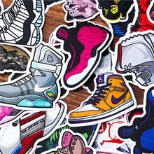 Sneaker Basketball Stickers Waterproof 100pcs/set No Duplicate