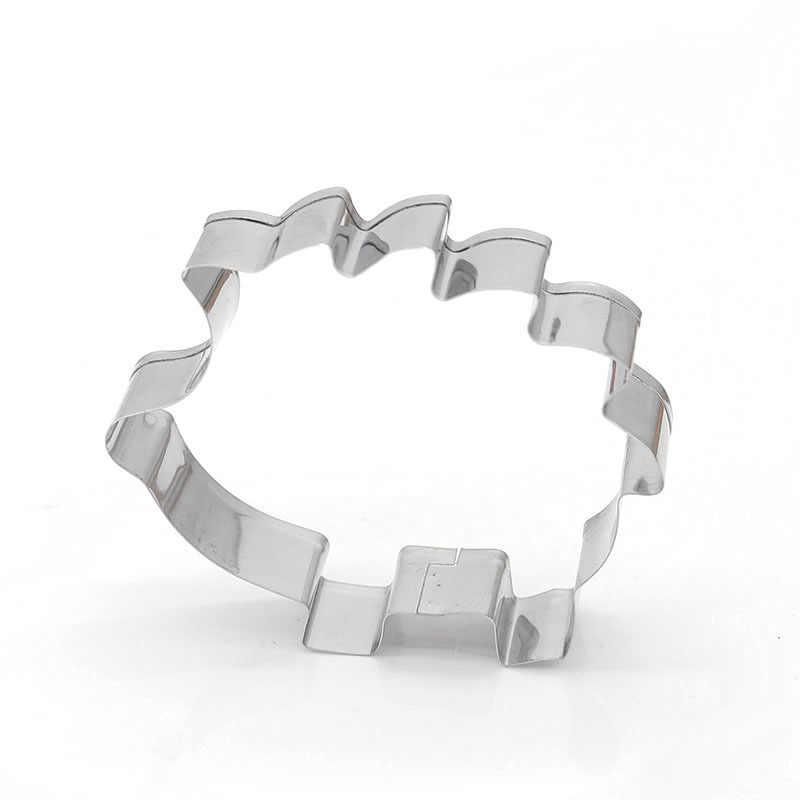 Delidge 1 قطعة القنفذ شكل حيوان قالب قطع الكعكة الغذاء الصف الفولاذ المقاوم للصدأ لتقوم بها بنفسك فندان المعجنات تزيين قالب البسكويت ثلاثية الأبعاد