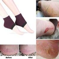 1pair new Gel Heel Socks Moisturing Spa Gel Socks feet care Cracked Foot Dry Hard Skin Protector drop shipping
