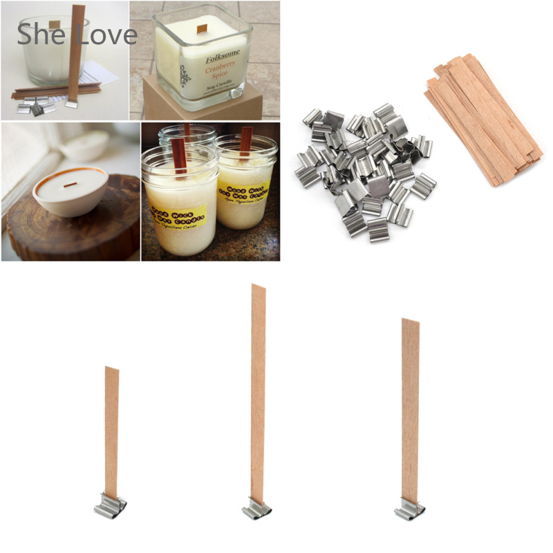 Wooden Candle Wicks Diy