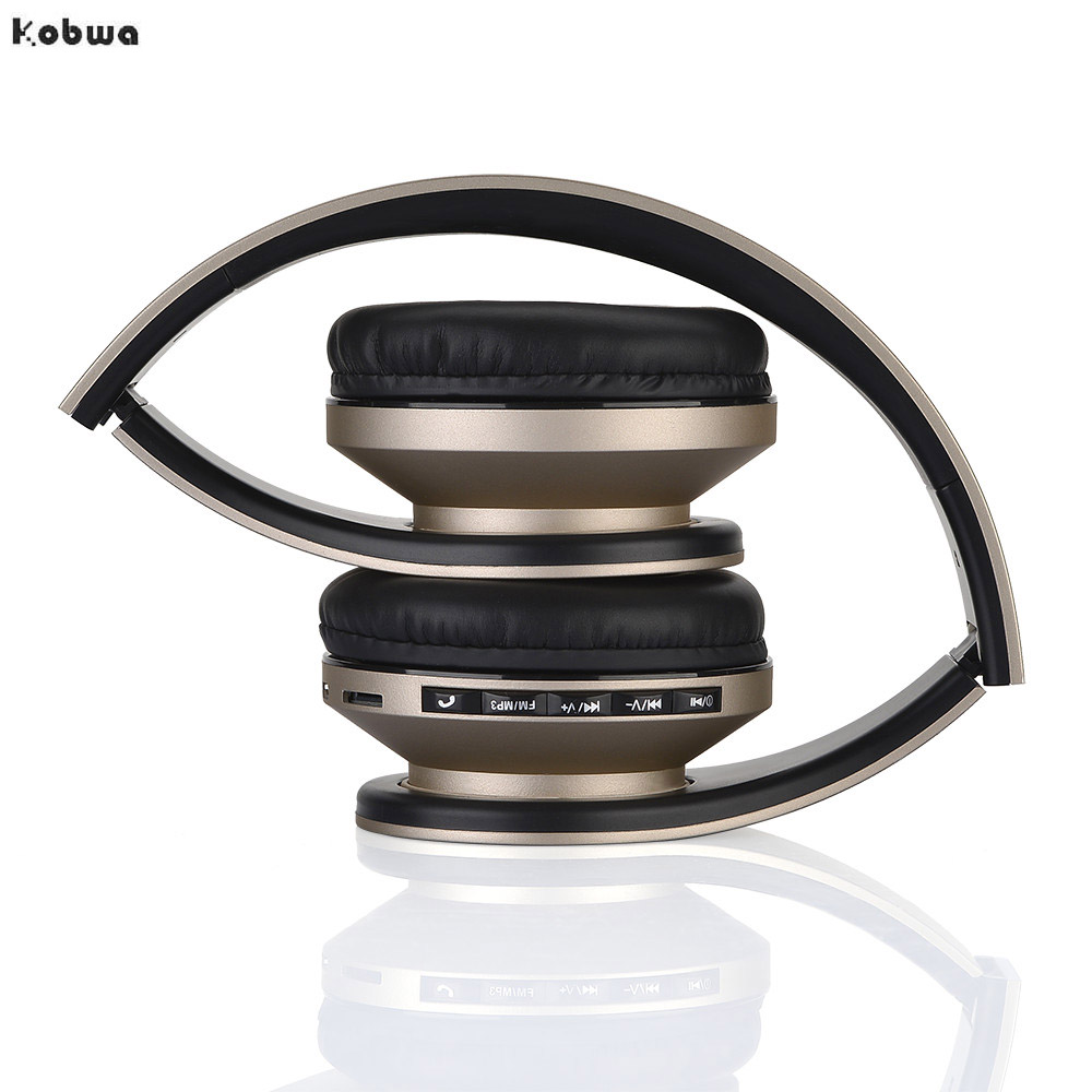 BT-811 Wireless Headphones Bluetooth Noise Cancelling Stereo Hifi headset FM Radio with mic for phone MP3 Player memory card zealot b570 headset lcd foldable on ear wireless stereo bluetooth v4 0 headphones with fm radio tf card mp3 for smart phone