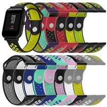 Tonbux Straps for Amazfit Bip Replacement Straps For Xiaomi Amazfit Wrist Band Straps For Huami Amazfit Bip Support DropShipping(China)