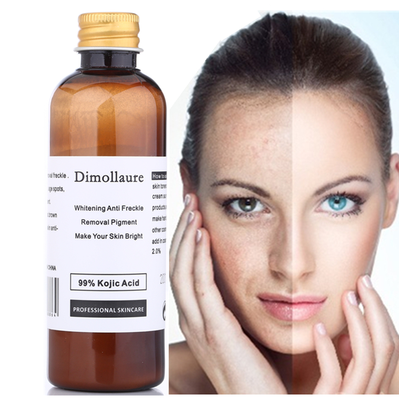 Dimollaure 30g pure 99% Kojic Acid whitening cream Wrinkle removal Freckle melasma Acne scars pigment age spot melanin sun spots