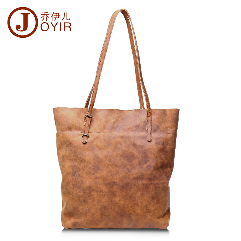 ФОТО JOYIR Luxury Handbags Women Bags Designer Women Genuine Leather Handbags High Quality Tote Bag Shoulder Bags Bolsa Feminina 3013