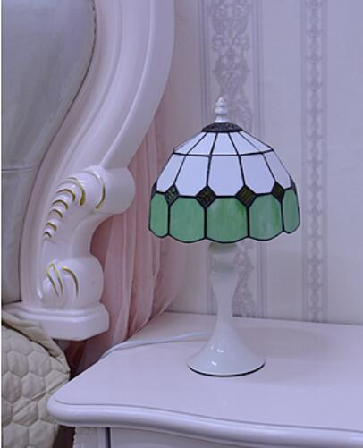 light colorful glass table lights minimalist bedroom bedside small lamp warm light decoration feeding fashion desk lamps ZA meja kecil untuk kamar