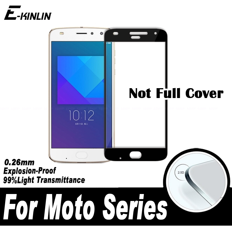 0.26mm 2.5D Full Cover Screen Protector Protective Film For Motorola Moto Z2 Play E 4th Gen 2017 E4 C Plus Tempered Glass