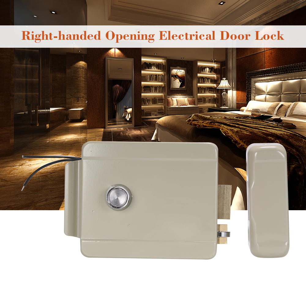 Right-handed Opening For Doorbell Intercom Access Control Security System Electric Electrical Door Lock