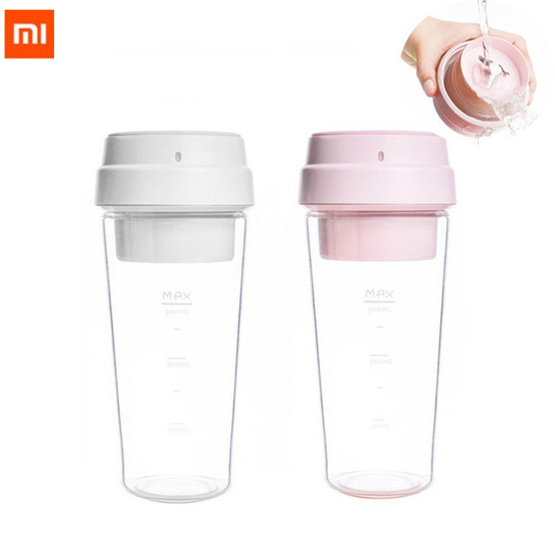 Xiaomi 17pin 400ml electric juicer electrical portable mini fruit vegetable orange juice mi 400ml bottle cup
