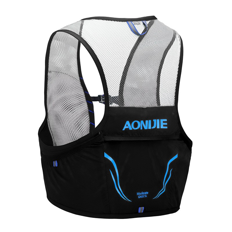 e37253a4a1 Aonijie Lightweight Backpack Running Vest Nylon Bag Cycling Marathon  Portable Ultralight Hiking 2.5L