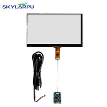 Skylarpu 6''inch 7''inch 8''inch ''inch 10.1 ''inch Capacitive touch screen Usb controlekaart Windows 7 8 10 Hoeft niet driver(China)