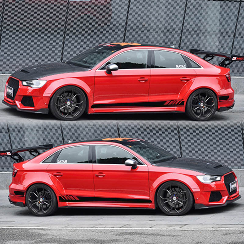 цена на TAIYAO car styling sport car sticker For Audi A1 A3 A4 A5 A6 RS3 RS4 RS5 Mark Levinson car accessories and decals auto sticker