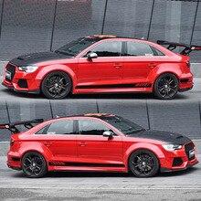 TAIYAO Тюнинг автомобилей спортивный автомобиль наклейки для Audi A1 A3 A4 A5 A6 RS3 RS4 RS5 Mark Levinson автомобильные аксессуары и наклейки на авто наклейка