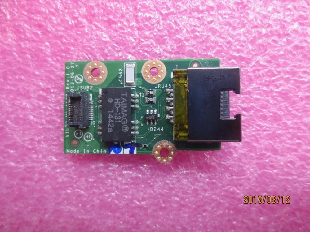 New Original for Lenovo ThinkPad T440P RJ45 LAN Ethernet Board Subcard CARDPOP RJ45 Network Jack Connector 04X5392