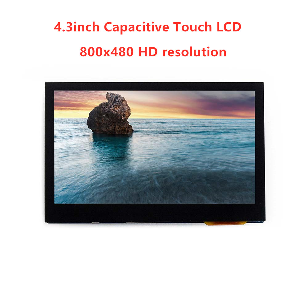 Waveshare 4 3inch Capacitive multicolor graphic Touch IPS LCD display 4 3inch diagonal 800x480 pixels Touch