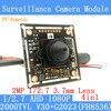AHD Coaxial 2MP 1920 1080 Mini CCTV 1080P Mini Night Vision Camera Module 1 2 7