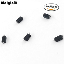 Free shipping 0.5W Zener diode SOD-123 2.4V-47V 32values*20=640pcs