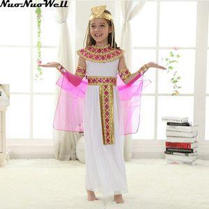 Image 2 - Halloween  Arabian Egypt Princess Dress Girl Cute Queen Dress Cosplay Carnival Party Beautiful Kids Children Cosplay Costume
