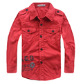 New 2015 Autumn Fashion Cotton Children Shirts for boys shirts big boys clothes tops shirts