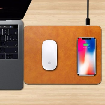 Qi Wireless Charger Charging Mouse Pad for iPhone/Samsung