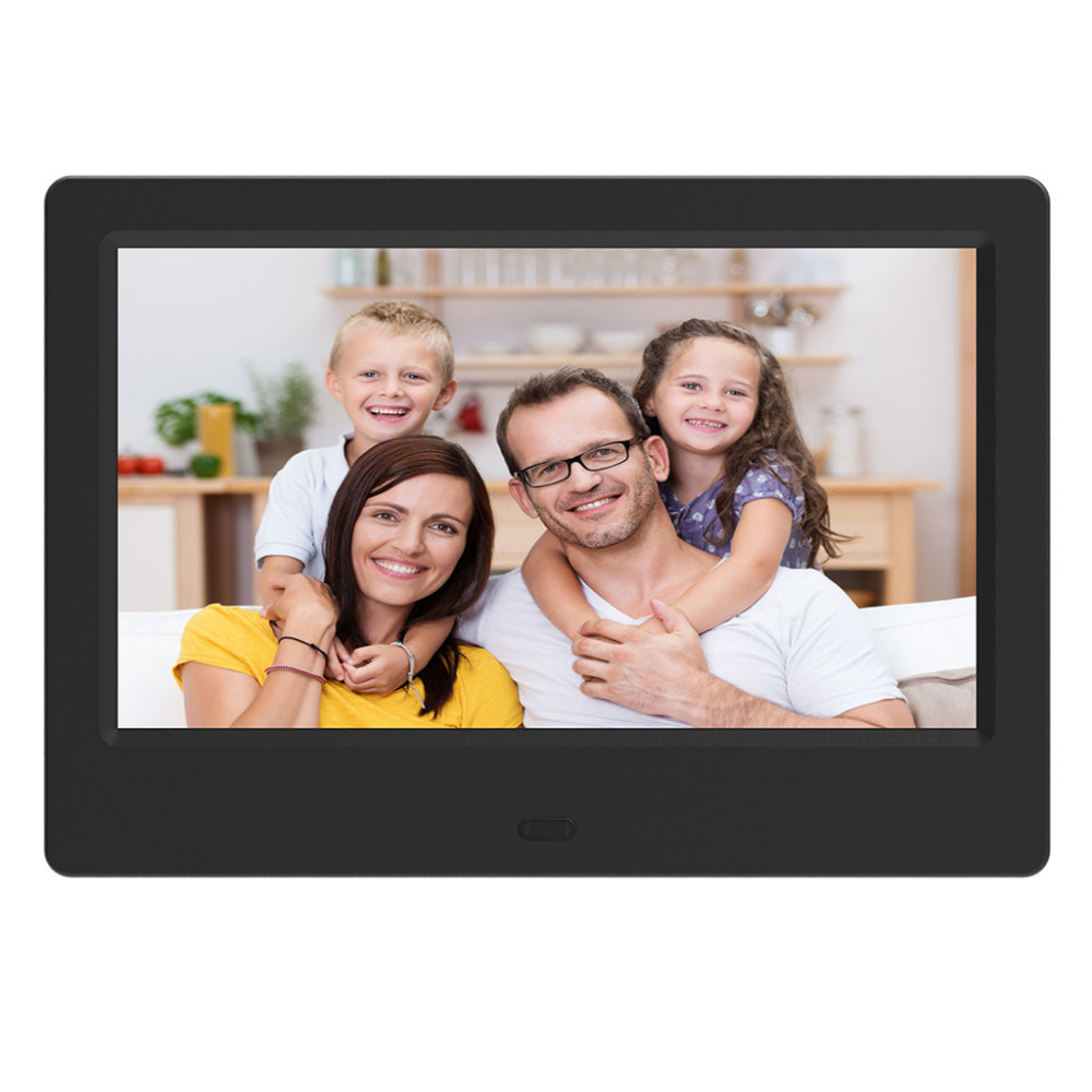7inch Digital Photo Frame Full HD LCD Digital Photo Picture Frame with Remote Control Alarm Clock Slideshow MP34 Player 40MR12 (3)