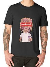 Awesome T Shirts Crew Neck Short Sleeve Summer Mens Lil Pump Lean Cup Tee Shirt