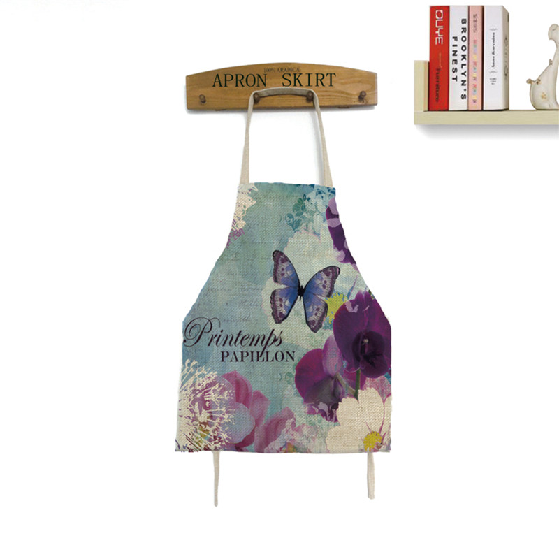 Butterfly Dragonfly Apron Cooking Apron Funny Novelty BBQ Party Apron Naked Men Women Kitchen Cooking Apron Delantal Cocina