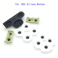 60sets Wholesale Price For Play Station 3 PS3 Controller Replacement Silicone conductive Rubber Button Pad Set