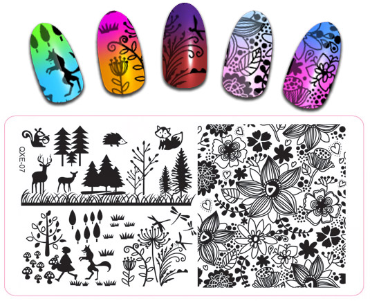 Aliexpress Com Buy Full 6 12cm Nail Art Cute Animal Stamping Image Plates Polish Printing