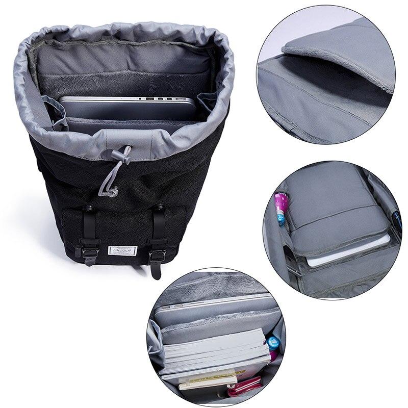 KALIDI bärväska ryggsäck 15,6 - 17,3 tums för män kvinnor rese - Laptop-tillbehör - Foto 4