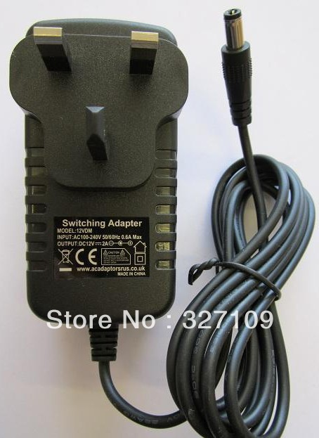 US $9 88 10% OFF 12V 2A AC DC Power Supply Adapter Wall Charger Replace For  KTEC KSAS0241200150HA 1TB WD EXTERNAL HARD DRIVE EU UK AU US Plug-in