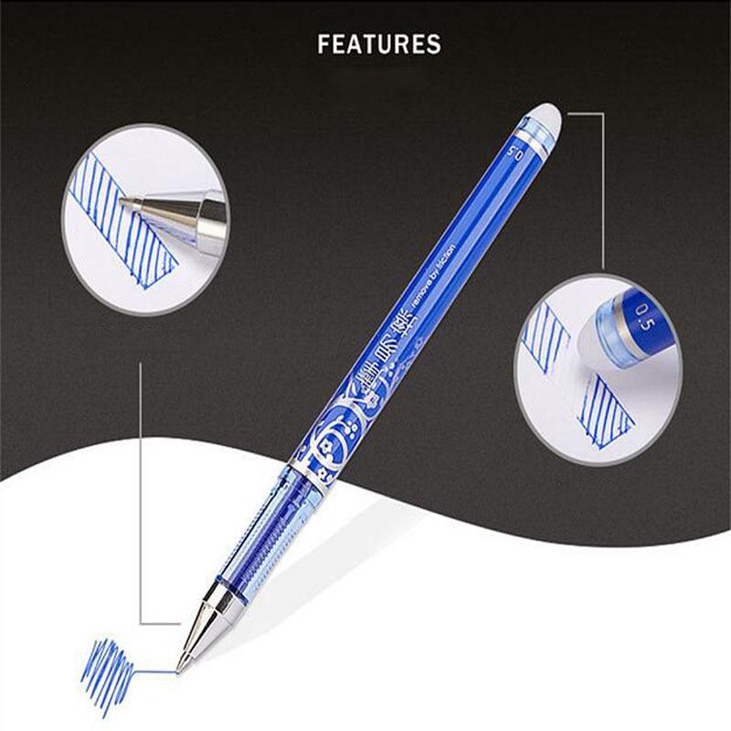 The Office Gel Pen Erasable Washable Handle School Supplies Stationery Sales Boutique Vanishing Pen Student-only Erasable Pen