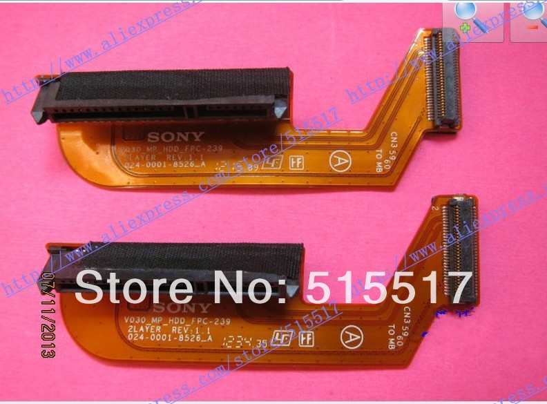 ФОТО For sony vpc-sa sb sc sd fpc-239 hard disk cable