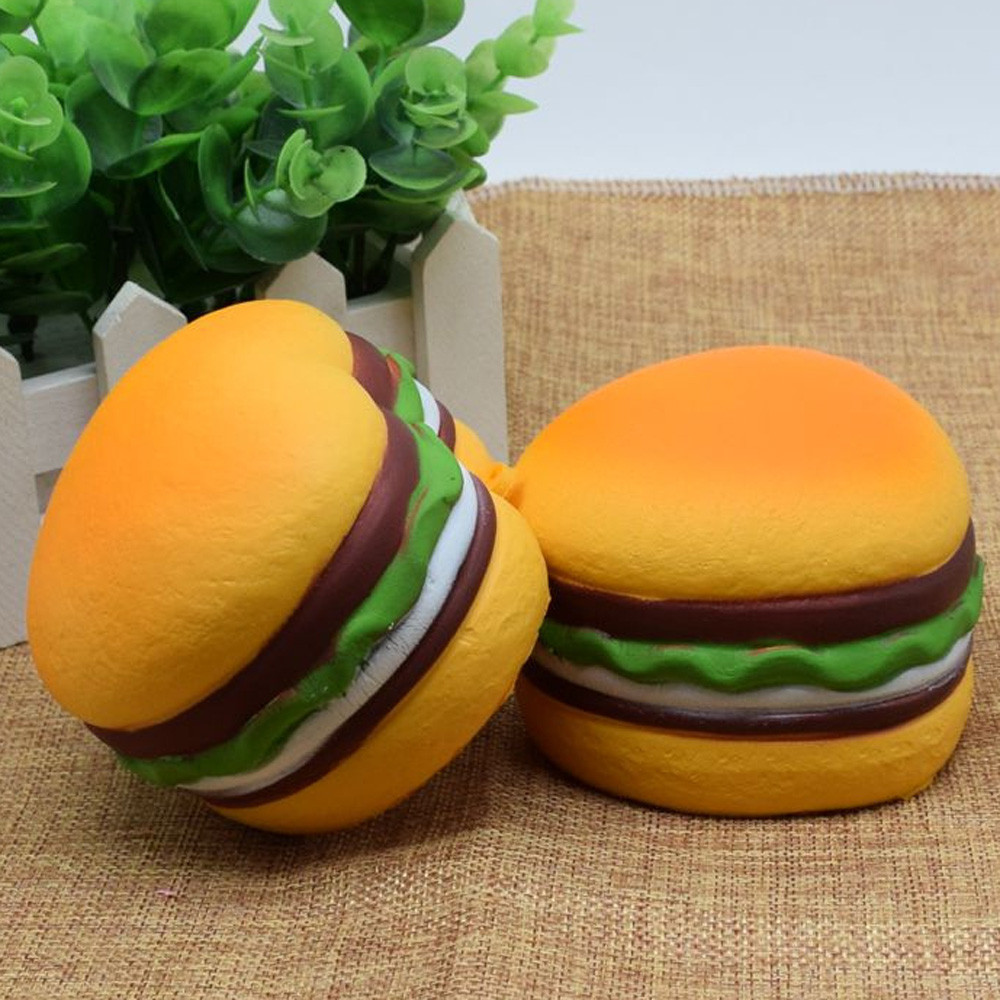 Squishy Heart Hamburger Squishy Scented Slow Rising Exquisite Kid Soft And Intresting Toy Gift For Baby  6.10