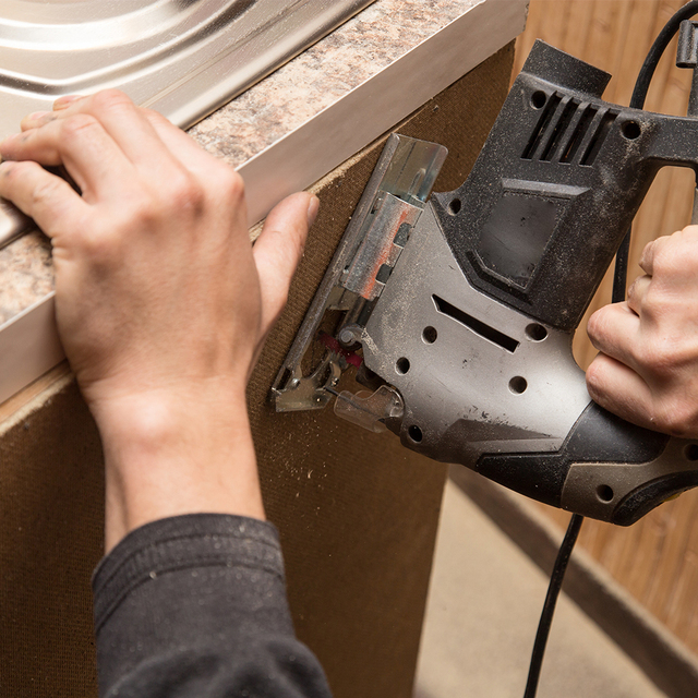 DEKO  Jig Saw Laser Electric Saw Metal Ruler, Allen Wrench Jigsaw Power Tools DKJS80Q1 800W/DKSS02 350W/DKJS80Q3 600W 5