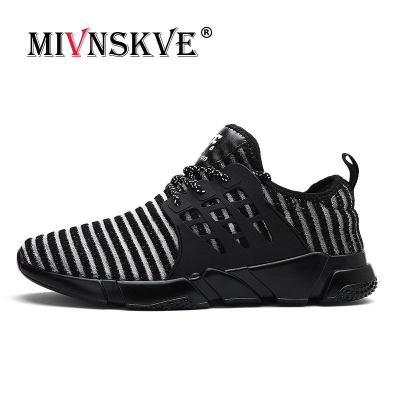 MIVNSKVE Running Shoes For Men 2018 Athletic Breathable Sneakers Men Hard Court Gym Sport Shoes Men Zapatillas Hombre Deportiva