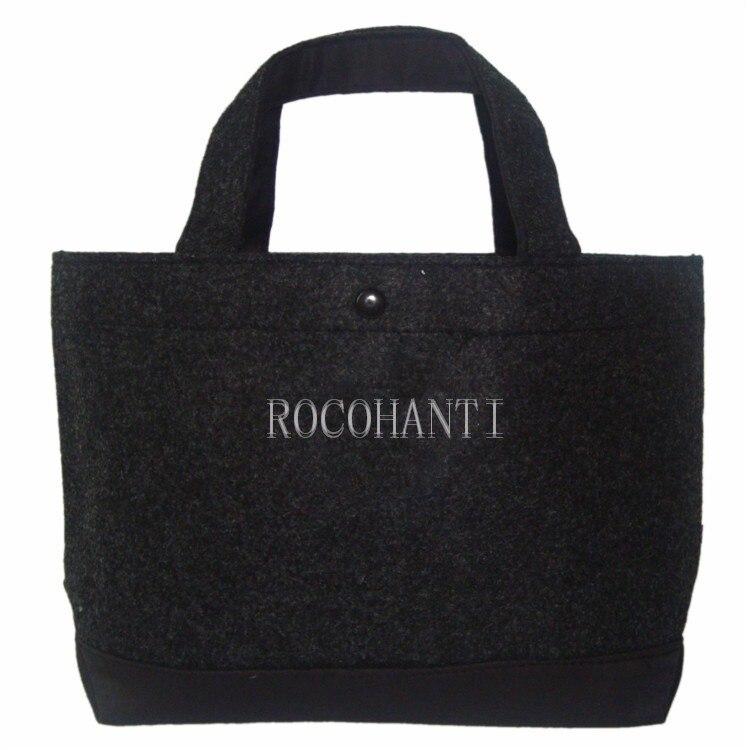 saco de compras amigável de eco do saco de feltro 100 pces