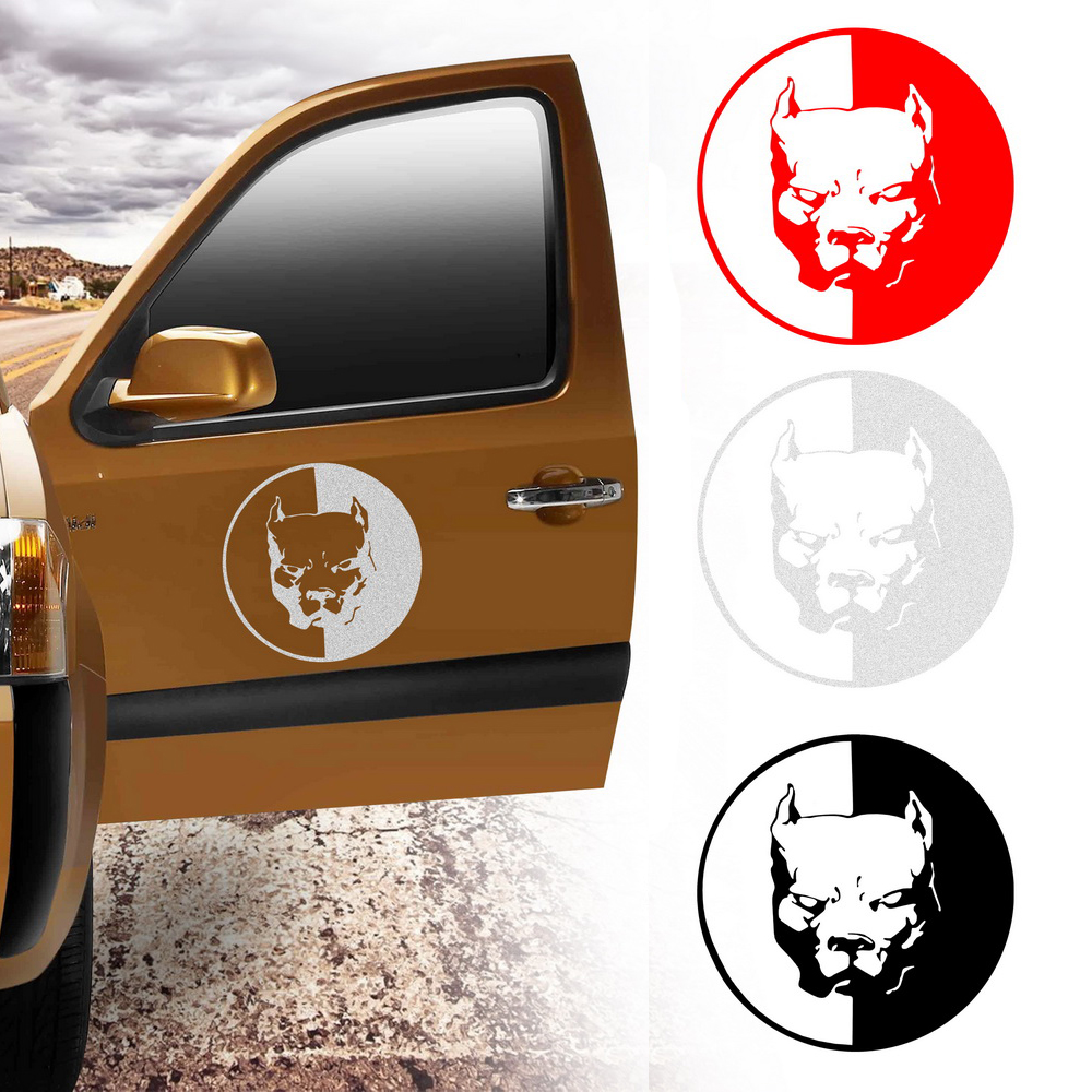 Car sticker auto decoration reflective cool car stickers and decals car styling car accessories 1212cm