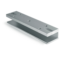U type bracket for 350LBS/180KG electric magnetic lock EM lock frameless glass for door access control system