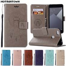 Leather Wallet Case For Xiaomi Redmi Note 4 Case Flip Cover For Xiaomi Redmi Note 5A Phone Case Xiaomi Redmi 4X 4A 5 Plus 6 Pro(China)