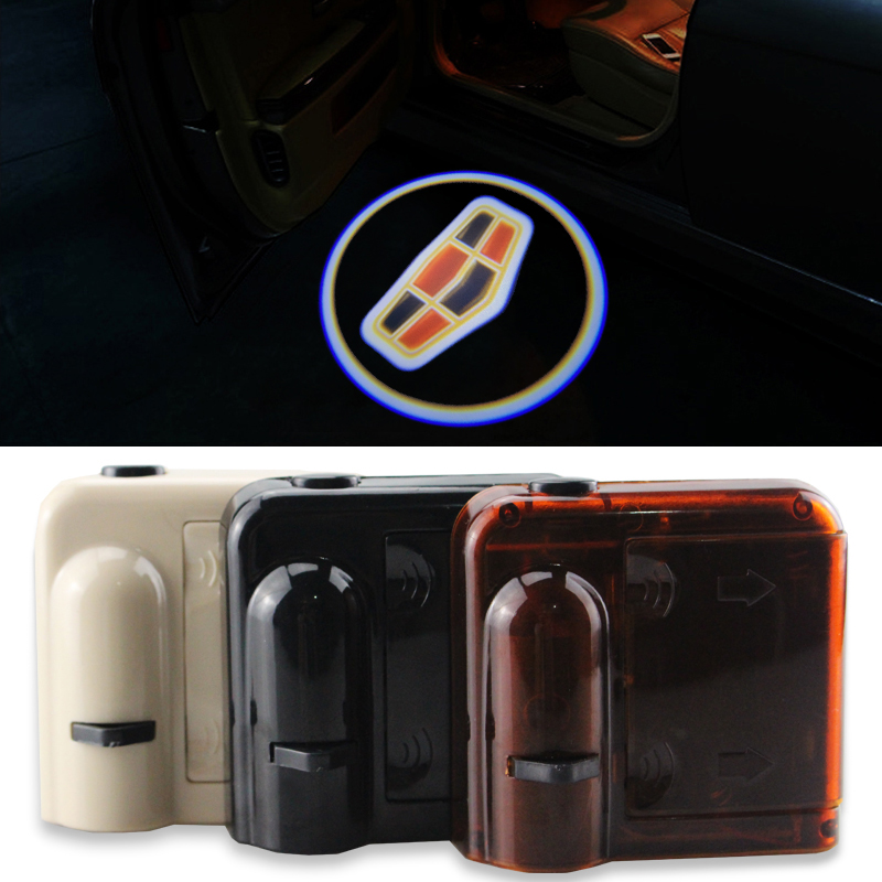 2pcs Wireless LED Car Door Projector Laser Light Welcome Ghost Shadow Light For For Cadillac XT5 SRX XTS ATSL All Series