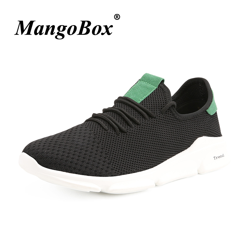 Man Running Shoes Black Gray Walking Shoes Male Lightweight Man Sneakers for Sport Breathable Anti-slip Athletic Footwear Man