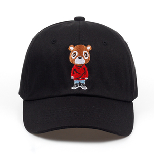 Newest Bear Dad Hat Lovely Baseball Cap Summer For Men Women Snapback Caps Unisex Exclusive Release Hip Hop Kanye West Ye Hat(China)