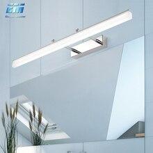 цена на LED Wall light Bathroom Mirror Lamp Black White Gold washroom wall Lamp fixtures 16W 20W 90-260v makeup mirror light ZJQ0015