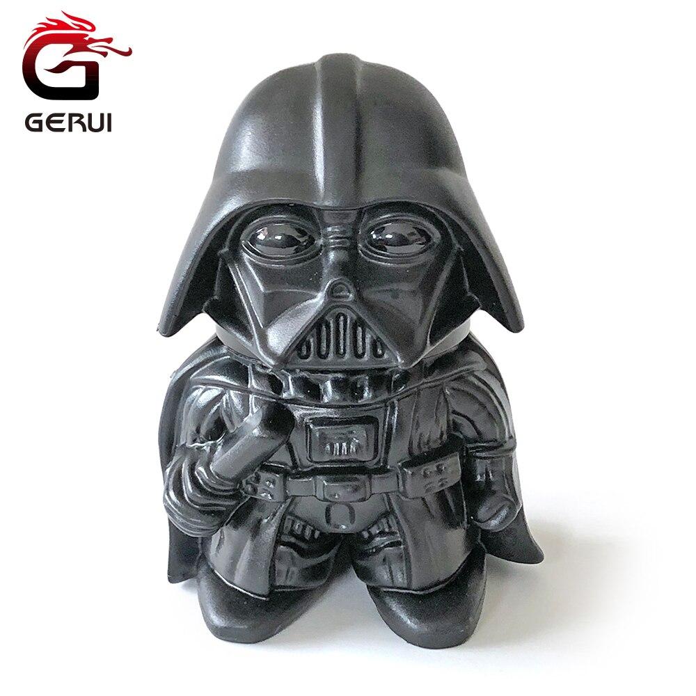 GERUI Star Wars Darth Vader BB-8 Droid Herb Grinder Zinc Alloy Creative Design Tooth Tobacco Grinder Weed Smoking Accessories