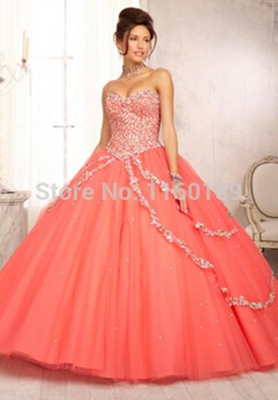 neon quinceanera dresses