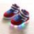 Inverno shoes crianças sneakers levaram crianças meninos da criança shoes crianças botas de tênis com luz led acende menina casual shoes