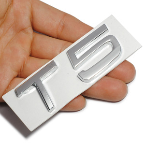 Image 2 - 3D Metal T5 T6 AWD LOGO Emblems Badges Car Sticker Letter Decal Car Styling for Volvo XC60 XC90 S60 S80 S60L V40 V60 Tail Fender