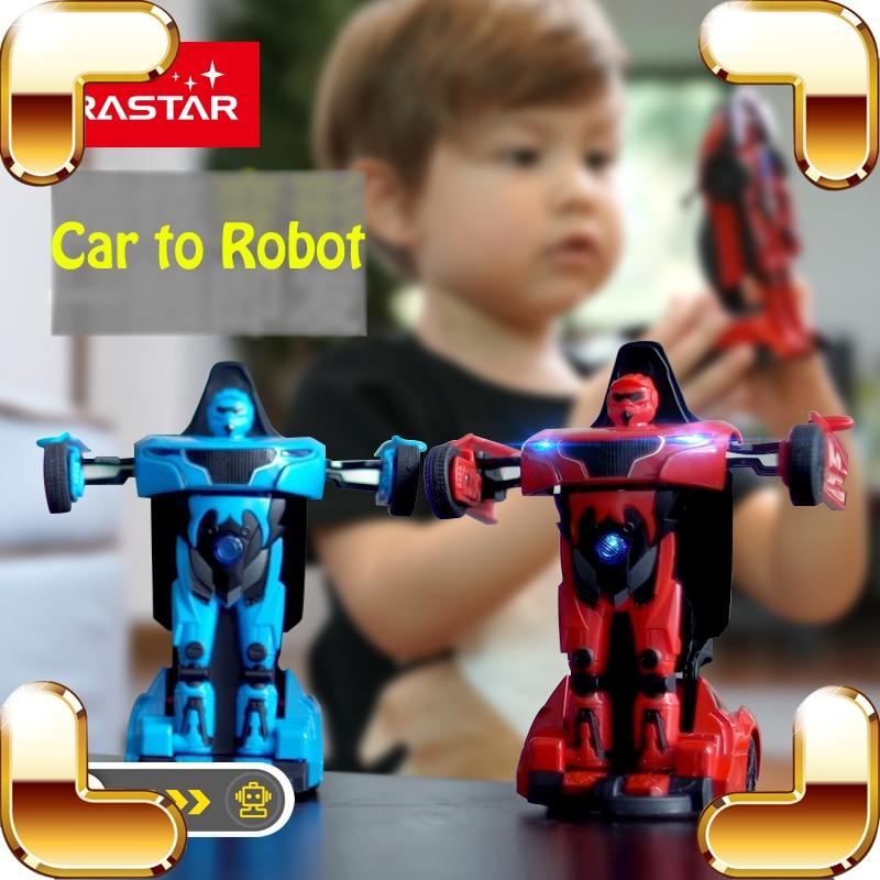 Nieuwe aankomst geschenk robot auto transformeren modelauto's met led geluid machine kinderen leuk spel strijd legering lichaam kinderen vriend aanwezig
